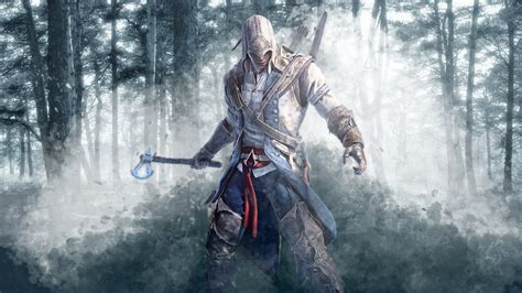 assassin s freewall assassins creed 3 connor wallpapers
