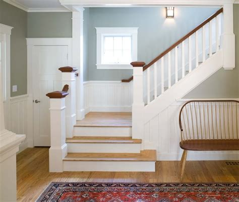 Traditional Staircase Ideas Entry Halls Stairs Traditional Staircase Boston By Jan Gleysteen Architects Inc