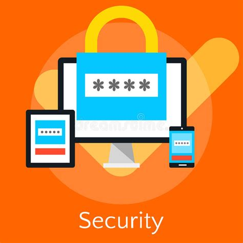 vista pe password reset flat design illustration concepts for data security and i