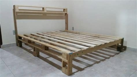 wooden pallet bed frame bed frame out of pallets