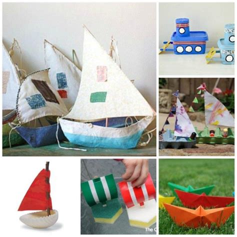 boat crafts for that float 20 boat craft ideas