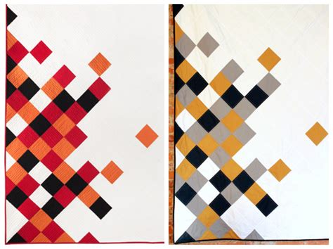 quilt pattern drawing four square walls concerto