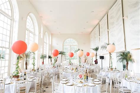 Wedding Aisle Balloons by Weddings
