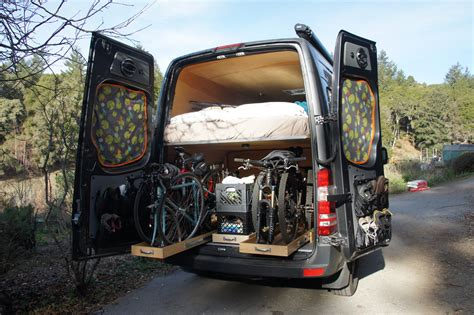 20 of the best cer vans with bike storage total