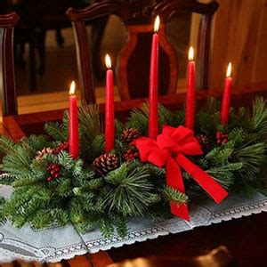 christmas centerpieces delivered five candle centerpiece for delivery