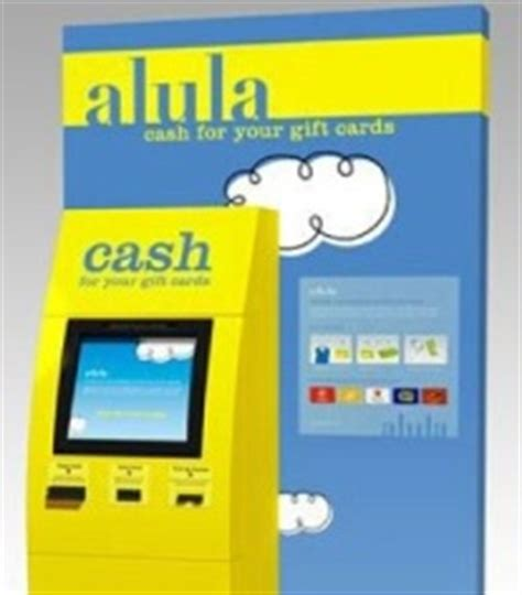 Alula Kiosk Gift Cards Accepted - alula turning gift cards into cash