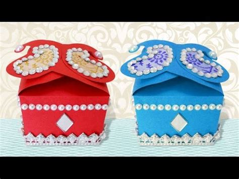 how to make decorative gift boxes at home diy crafts how to make cute handmade decorative small