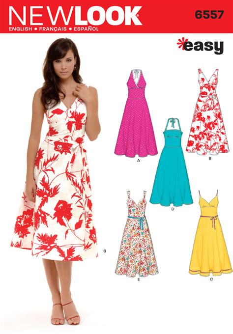pattern dress how to sewing circle sale fabric good beginner dress patterns