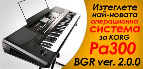 Korg Pa300 By Gallery center ikonomov