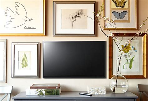tv decor ideas solutions for the wall the tv burger
