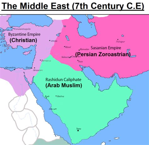 middle east map century syria map