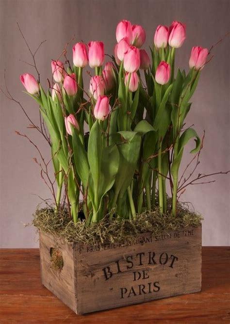 imagenes tulipanes naturales arreglos florales con tulipanes decoraci 243 n de interiores