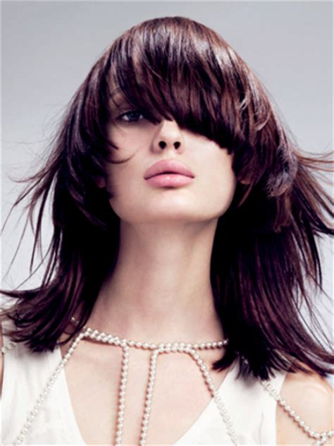 heavily layered shoulder length hairstyles pictures fall hairstyle ideas new haircuts and colors