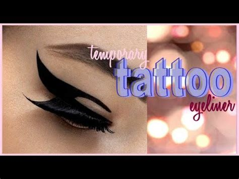 eyeliner tattoo youtube review tattoo winged eyeliner cheap pigments