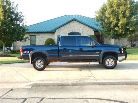 Chevy Headache Rack by Find Used 2005 Chevy 2500hd Diesel Blue Crew Cab 4x4 W