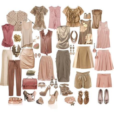 Soft Autumn Capsule Wardrobe by Soft Autmn Mix For Created By Mpsakatrixie On