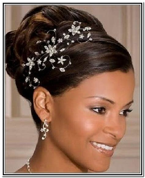 Black Wedding Hairstyles by 1000 Ideas About Black Wedding Hairstyles On