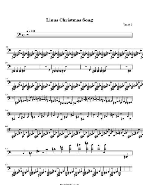 lyrics linus linus song sheet linus song