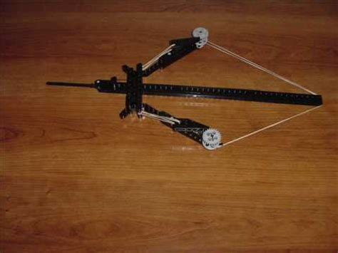 lego crossbow tutorial lego bow and arrow minecraft how to make do everything