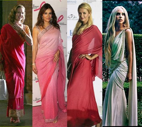 hollywood actresses from india 10 hollywood celebrities who rocked the indian saree