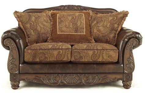 ashley furniture fresco 63100 durablend antique living fresco durablend antique living room set from ashley
