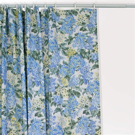 hydrangea curtains hydrangea bloom shower curtain