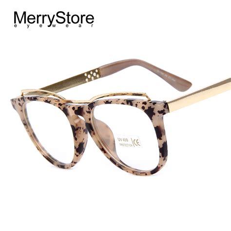 merrystore fashion cat s eye glasses brand designer