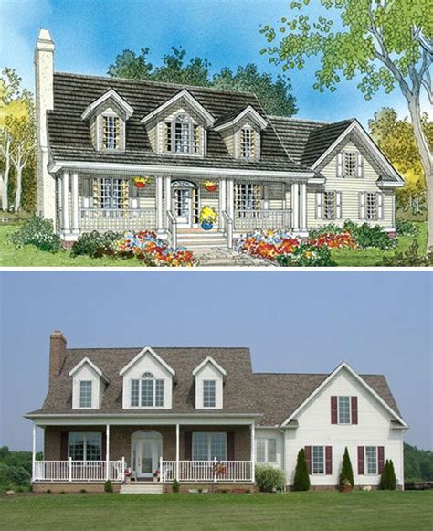 dormer house plans dormer windows front porches and the double on pinterest