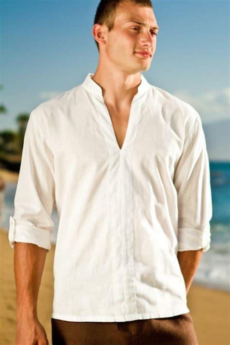 Linen Shirt awesome mens white linen shirt for wedding wedding