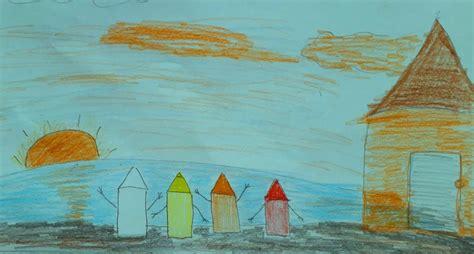 Matahari Syari matahari krayon kuning dan krayon orange dongeng pendidikan tentang warna tatkala co