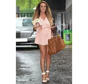 Look At Those Legs Charlotte Crosby Looked Positively Glowing As She