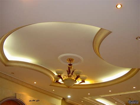 Gypsum Design For Ceiling by 4 Curved Gypsum Ceiling Designs For Living Room 2015