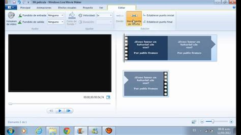 tutorial cortar audio windows movie maker 191 como cortar partes de un v 237 deo solo con movie maker
