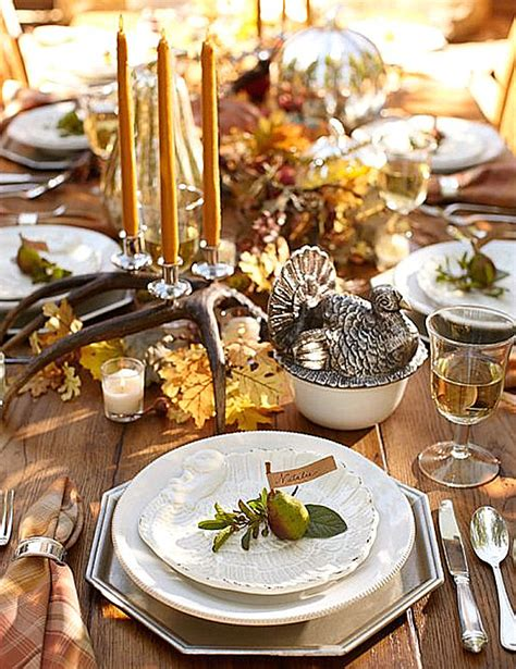 back thanksgiving centerpieces ideas for a festive table
