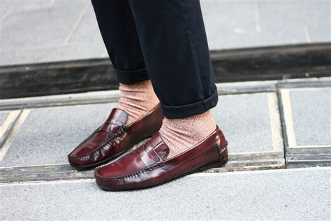 socks and loafers onesixtynotepad sartorial accessories socks with loafers