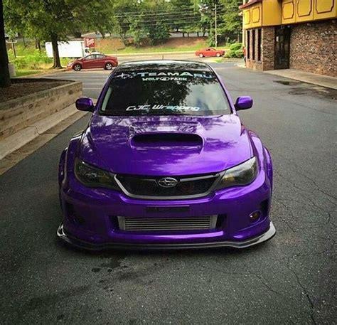 Purple Subie Subaru Wrx Sti Subarusti Subaruwrx