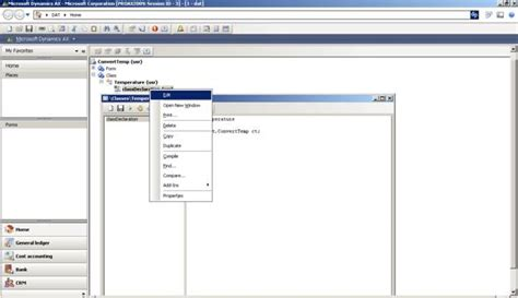 integrate microsoft dynamics axapta with temperature