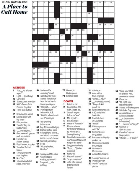 printable puzzles for 11 year olds may 2015 crossword a place to call home everything
