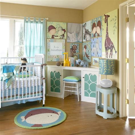 Baby Nursery Beautiful Baby Room Decoration Using White Corner Crib Bedding
