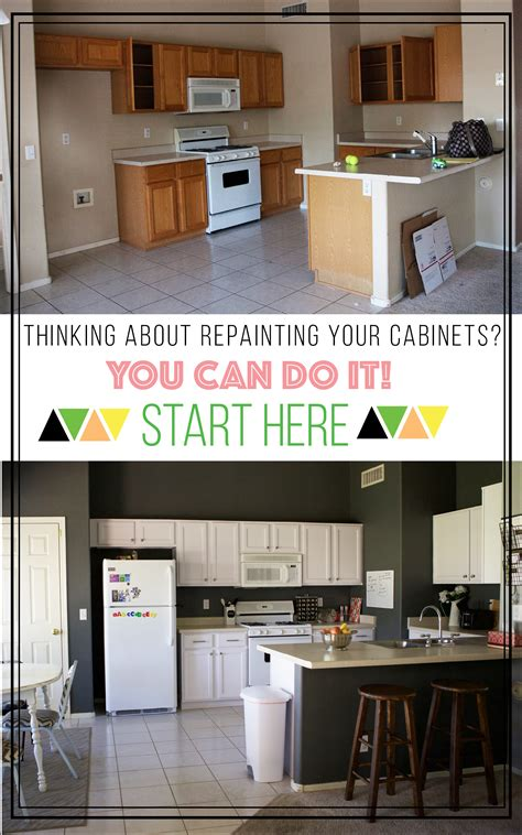 how to repaint cabinets how to repaint your kitchen cabinets a happier home