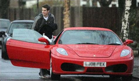 andy murray with his f430 spider car images on