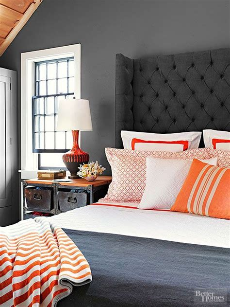 orange and gray bedroom best 20 charcoal bedroom ideas on pinterest bed