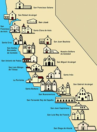 california missions map the california mission ride adventures of a home town tourist