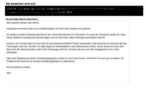 Daimler Bewerbung Telefoninterview Was K 246 Nnte Ich An Dieser Bewerbung Noch Verbessern