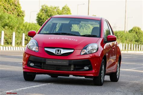 honda brio diesel on road price in bangalore honda brio automatic official review team bhp
