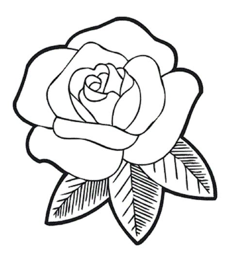 drawing images for kids rose flower drawings for kids the very fragrant flower
