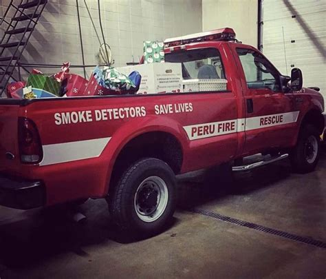 Fire Department Giveaways - peru fire department christmas outreach receives record donations local news