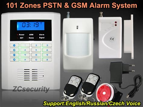 russian and voice and manual alarm systems