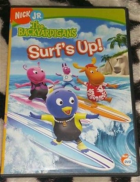 Backyardigans Surf S Up Dvd The Backyardigans Surfs Up Dvd 2006 Surf Nick Jr