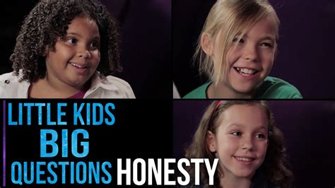big questions from little 0571288510 little kids big questions honesty youtube